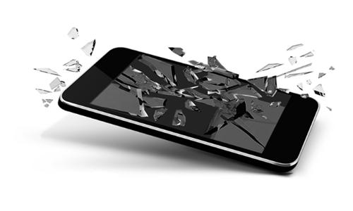 Разбился экран телефона