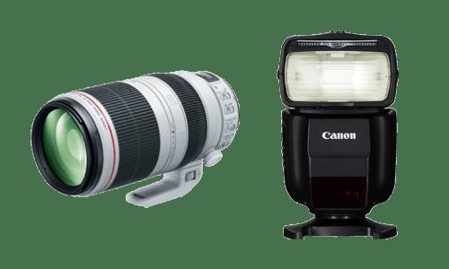 Ремонт вспышек и объективов Canon