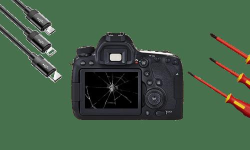 Замена дисплея и прошивка фотоаппарата