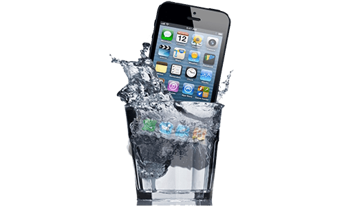 iPhone в воде